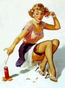 pinup firework